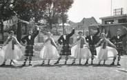 "91 Essonne CARTE PHOTO FRANCE 91 ""Etampes, Gordon Dancers 1955"" avec sa pochette"