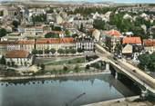 """57 Moselle / CPSM FRANCE 57 """"Sarreguemines, le pont sur la Sarre"""""""