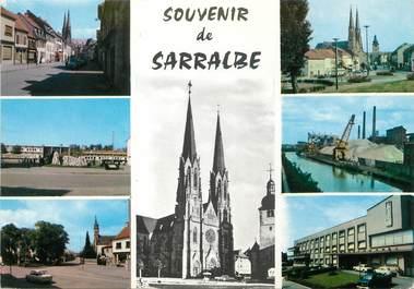 "/ CPSM FRANCE 57 ""Souvenir de Sarralbe"""