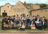 "58 Nievre / CPSM FRANCE 58 ""Clamecy"" / GROUPE FOLKLORIQUE"