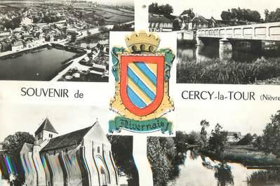 """/ CPSM FRANCE 58 """" Cercy La Tour """""""