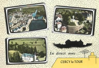 """/ CPSM FRANCE 58  """"Cercy La Tour"""""""