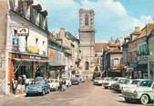 """58 Nievre / CPSM FRANCE 58 """"Clamecy, place du Grand marché"""""""