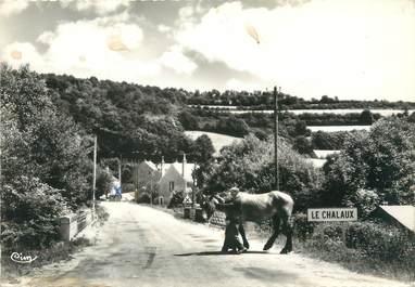 """/ CPSM FRANCE 58 """"Chalaux, le pont sur le Chalaux"""""""