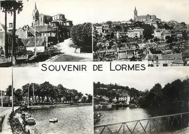"""/ CPSM FRANCE 58 """"Souvenir de Lormes"""""""