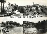 """58 Nievre / CPSM FRANCE 58 """"Souvenir de Lormes"""""""