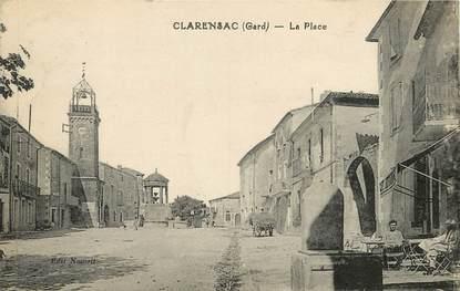 """CPA FRANCE 30  """"Clarensac, la Place"""""""
