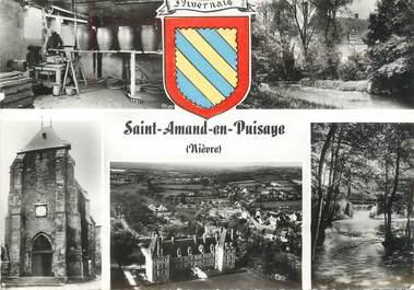 """/ CPSM FRANCE 58 """"Saint Amand en Puisaye"""""""