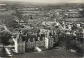"""58 Nievre / CPSM FRANCE 58 """"Saint Amand en Puisaye, vue aérienne du château"""""""