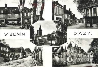 "/ CPSM FRANCE 58 ""Saint Benin d'Azy"""