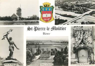 "/ CPSM FRANCE 58 ""Saint Pierre le Moutier"""