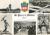 "58 Nievre / CPSM FRANCE 58 ""Saint Pierre le Moutier"""