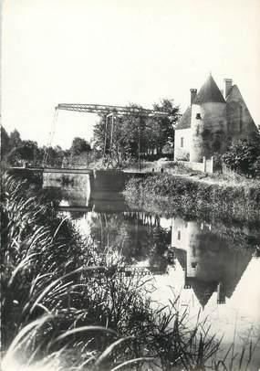 "/ CPSM FRANCE 58 ""Tannay, le canal du Nivernais"""