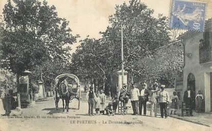 """CPA FRANCE 66 """"Le Perthus, la douane espagnole"""""""