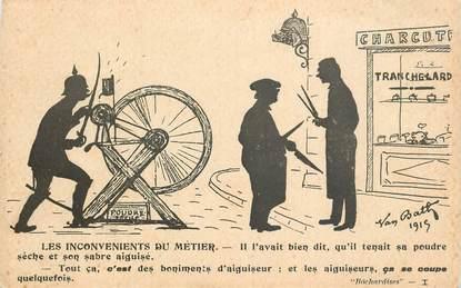 """CPA GUILLAUME II """"Les Inconvénients du métier"""""""