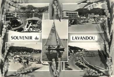 """/ CPSM FRANCE 83 """"Souvenir du Lavandou"""""""