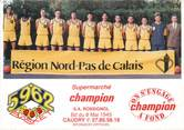 """59 Nord / CPSM FRANCE 59 """"Caudry"""" / BASKET"""