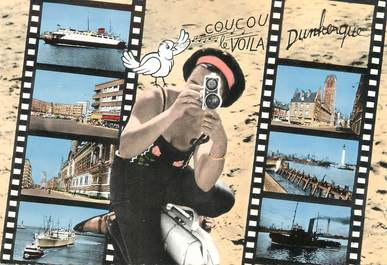 """/ CPSM FRANCE 59 """"Divers aspects de Dunkerque"""""""