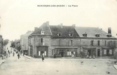 """/ CPA FRANCE 03 """"Buxières les Mines, la place"""""""