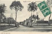 """95 Val D'oise / CPA FRANCE 95 """"Magny en Vexin, rue de Crosnes"""""""