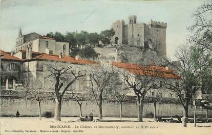 """CPA FRANCE 30  """"Beaucaire, le Chateau de Montmorency"""""""