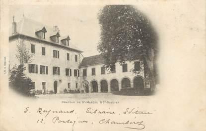 """/ CPA FRANCE 74 """"Château de Saint Marcel """""""