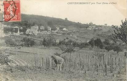 """/ CPA FRANCE 78 """"Cheverchemont près Triel"""""""