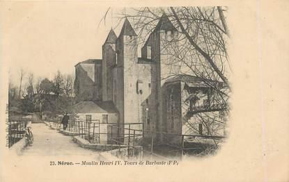 """/ CPA FRANCE 47 """"Nérac, Moulin Henri IV, tours de Barbaste"""""""