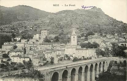 """CPA FRANCE 30  """"Bez, le Pont"""""""