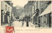39 Jura Poligny, la grande rue et la Croix du Dent