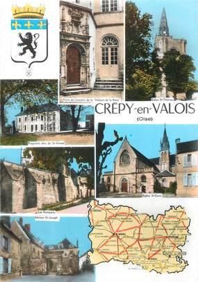 """/ CPSM FRANCE 60 """"Crépy en Valois"""""""