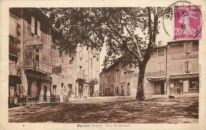 "CPA FRANCE 30  ""Barjac, Rue Saint Michel"