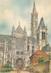"""/ CPSM FRANCE 60 """"Senlis, la cathédrale"""""""