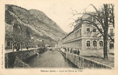 Morez, quai de l'Hotel de ville