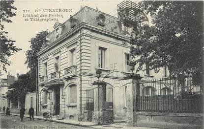 """/ CPA FRANCE 36 """"Chateauroux, l'hôtel des postes et télégraphes"""""""