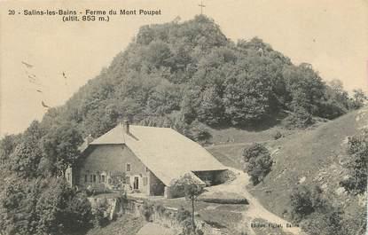 Salins les Bains , Ferme du Mont Poupet