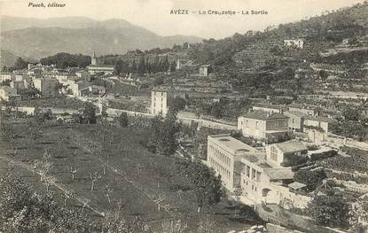 """CPA FRANCE 30  """"Avèze, La Crouzette"""""""