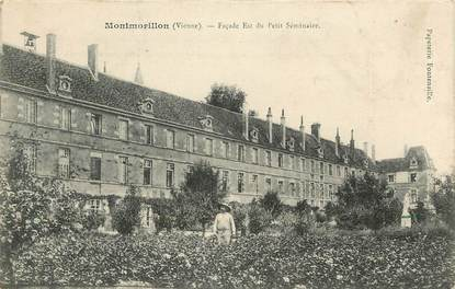 Montmorillon, Façade est du petit séminaire