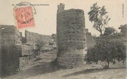 "CPA ALGERIE ""Tlemcen, ruines de Toubiana"""