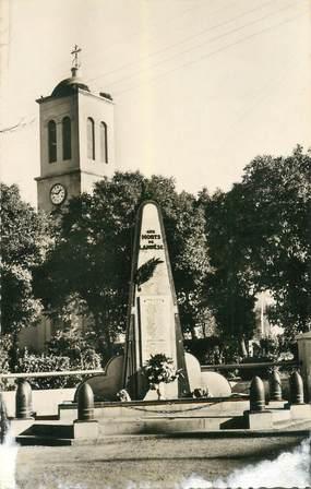 """CPSM ALGERIE  """"  Lambèse, monument aux morts"""""""