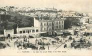 """Maroc CPA MAROC """"Tanger, la place du grand Sokko"""""""