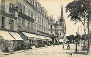86 Vienne Chatellerault, bld Blossac et l'Eglise Saint Jean Baptiste