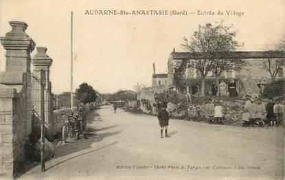 """CPA FRANCE 30  """"Aubarne Sainte Anastasie"""""""