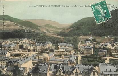 La Bourboule, vue générale prise du Rocher