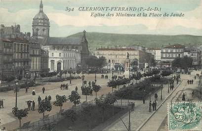 Clermont Ferrand, Eglise des Minimes et la place de Jaude