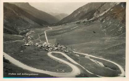 """CPA AUTRICHE """"Stuben mit Arlbergstrasse"""""""