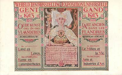 "CPA BELGIQUE ""Gand 1913"""