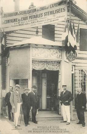 "CPA FRANCE 94 ""Nogent sur Marne, 1905, Exposition coloniale"""