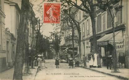 """CPA FRANCE 94 """"Saint Mandé, avenue Alphand"""""""