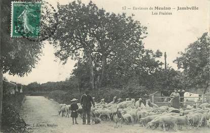 "CPA FRANCE 78 ""Environs de Meulan, Jambville, les prairies"""